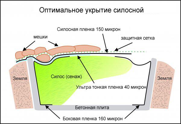 Как сделать силосную яму